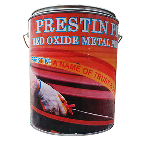 Red Oxide Metal Paint