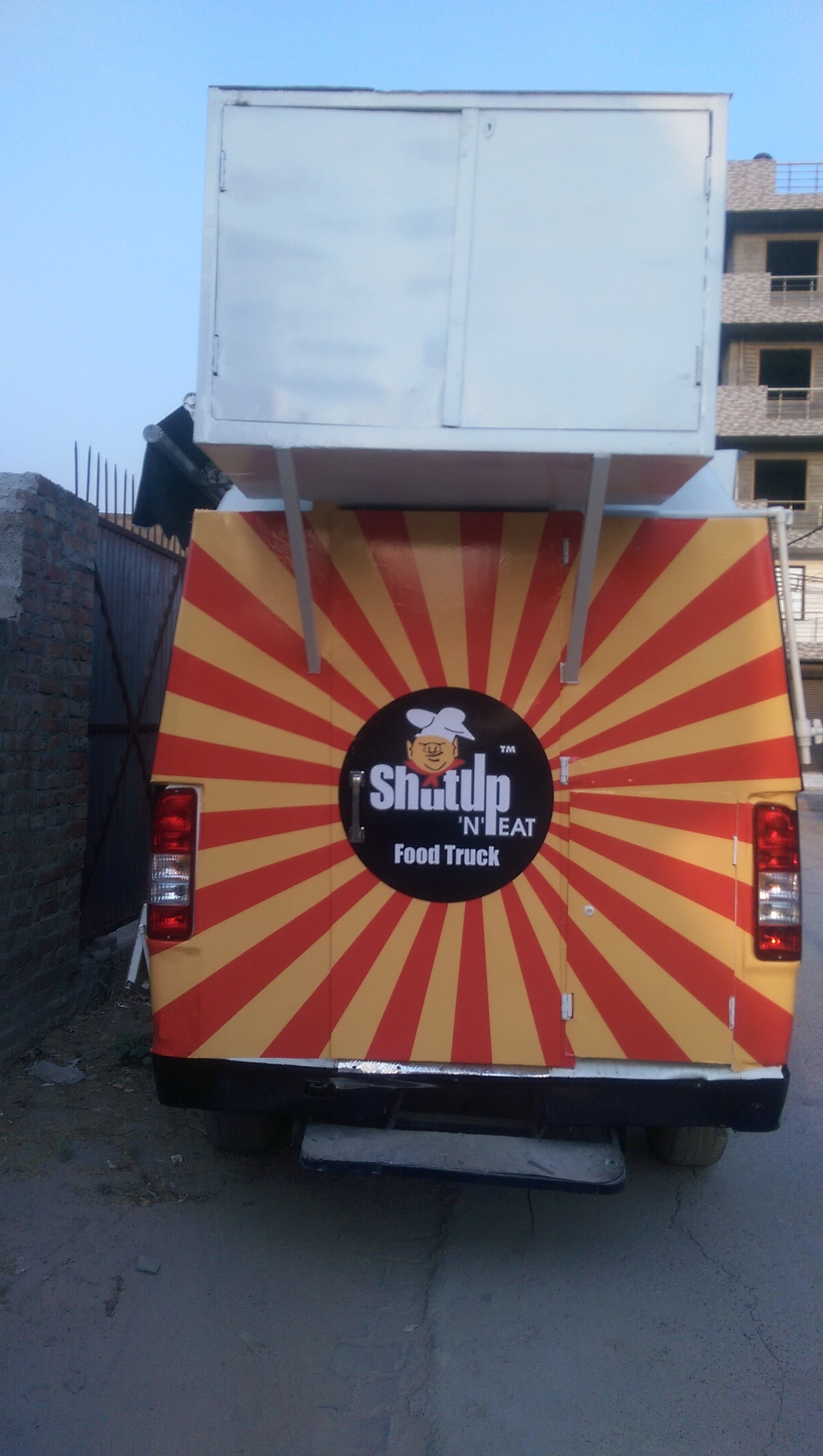 Chinese Food Van
