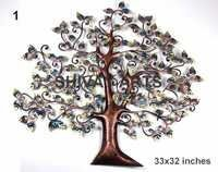 Contemporary Metal Iron Tree Wall Decor/ Wall Hanging