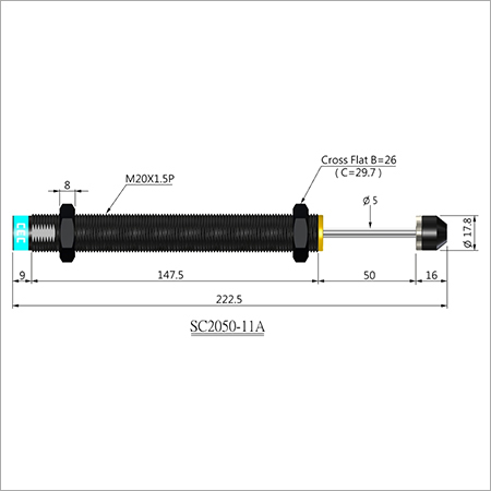 SC 2050-11A SHOCK ABSORBERS