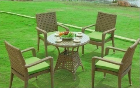 Garden Furniture Rattan Patio Set