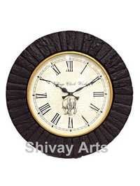 Beautiful Handcrafted Wooden Wall Clock / Wall Hanging