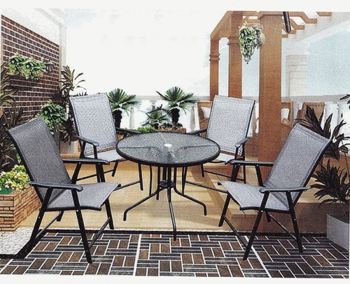 Ash Style Wicker Outdoor Coffee Set