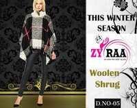 Woolen Shrug