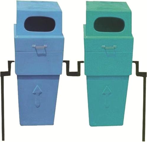 Post Office Fiber Pair Dustbin