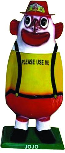 Potata Man Fiber Medium Dustbin