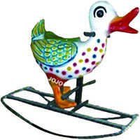 Duck Big Fiber Rocker with Iron Frame