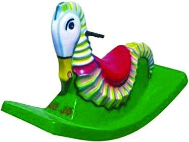 Sea Horse Full Big Fiber Rocker