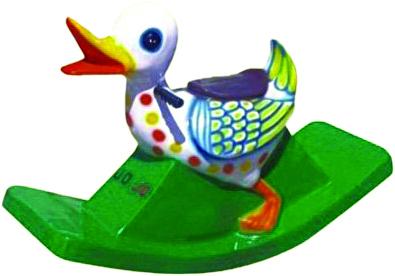 Duck Full Big Fiber Rocker
