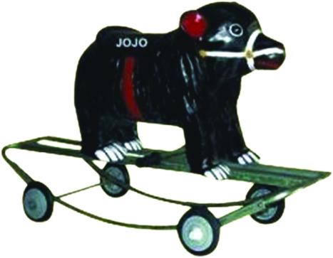 Bear Small Rider & Rocker with Iron Frame