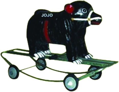 Bear Small Rider & Rocker with Iron Frame