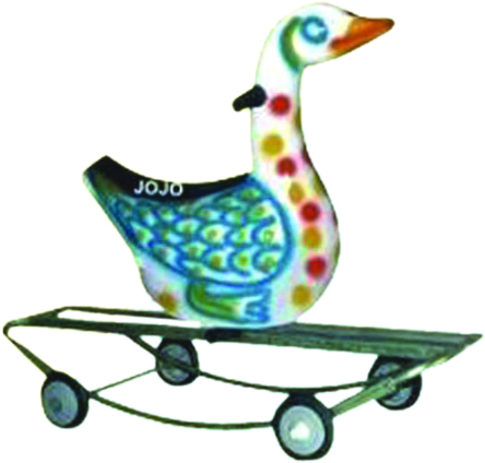 Duck Small Rider & Rocker with Iron Frame