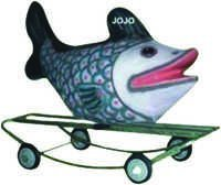 Fish Small Rider & Rocker with Iron Frame