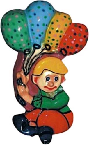 Balloon Boy Fiber Cutouts