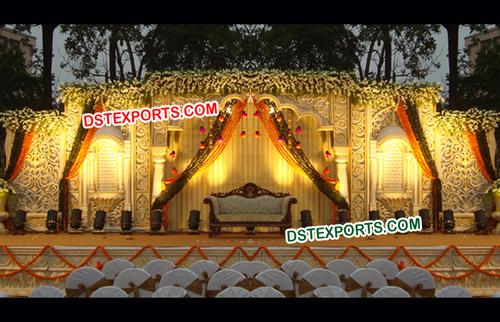 Wedding Mehraap Fiber Stage