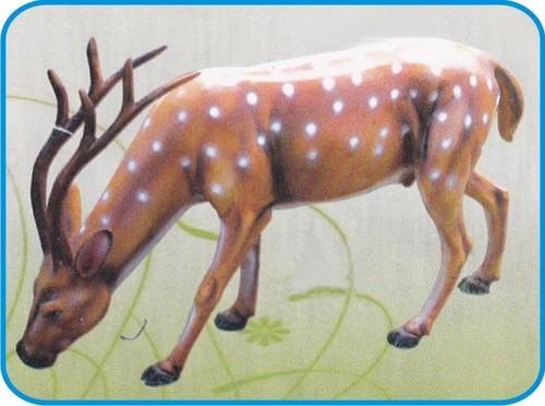 Barasingha Fiber Animal Figure