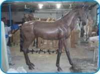 Horse Fiber Animal Figure
