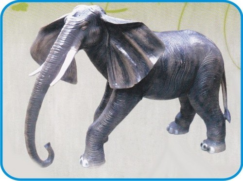 Elephant Fiber Animal Figure