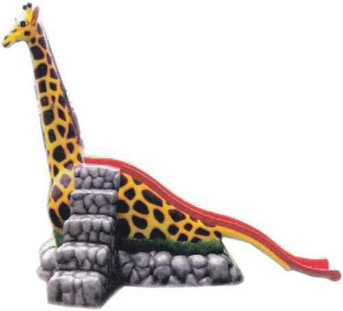 Zebra Fiber Animal Slide