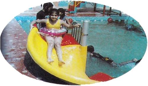 "Mini Spiral Water Park Slide 6"""