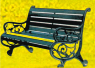 Deluxe Park Bench