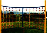 Half Round Net Climber