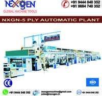 5 Ply Automatic Paper Corrugated Board Plant