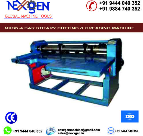 4 Bar Rotary Cutting and Creasing Machine