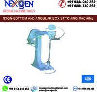 Bottom and Angular Box Stitching Machine