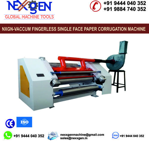 VACCUM FINGERLESS SINGLE FACE PAPER CORRUGATION