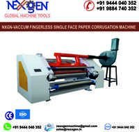 VACCUM FINGERLESS SINGLE FACE PAPER CORRUGATION