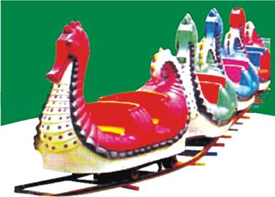 "Duck Trains- 16 Childrens, BOoggy-4 Nos., Track Dia 30"""