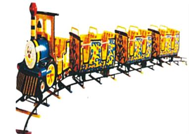 """Engine Train- 18 Children, Boggy-3 Nos., Track Dia 30"""""""