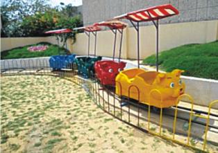"""Cat Train- 16 Children, Boggy-4 Nos., Track Dia 30"""""""