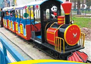 """Engine Train- 24 Children, Boggy-3 Nos., Track Dia 40"""""""