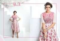 Party Wear printed Fancy Kurti