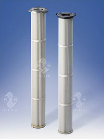 Dust Filter Cartridges Ø 145 mm with Flange