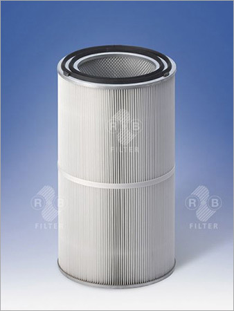 Dust Filter Cartridges Ø 327 mm with Double Gasket