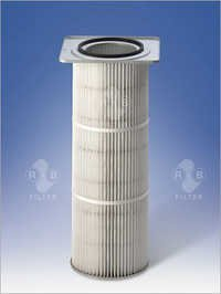 Dust Filter Cartridges Ø 327 mm with rectangular Flange
