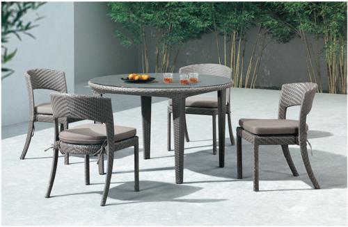 Designer Wicker Furniture Coffee Set