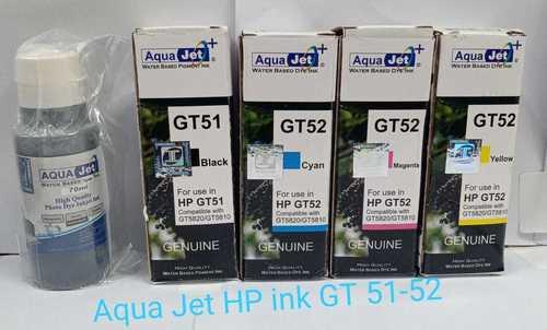 Aqua Jet Ink for Use In Hp Printer