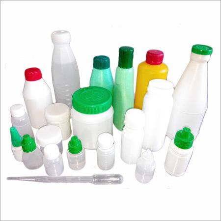 Plastic Molded Bottles