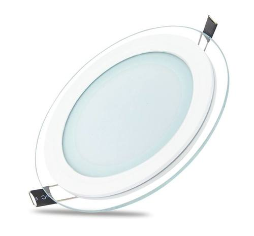 Round Glass LED Panel Light