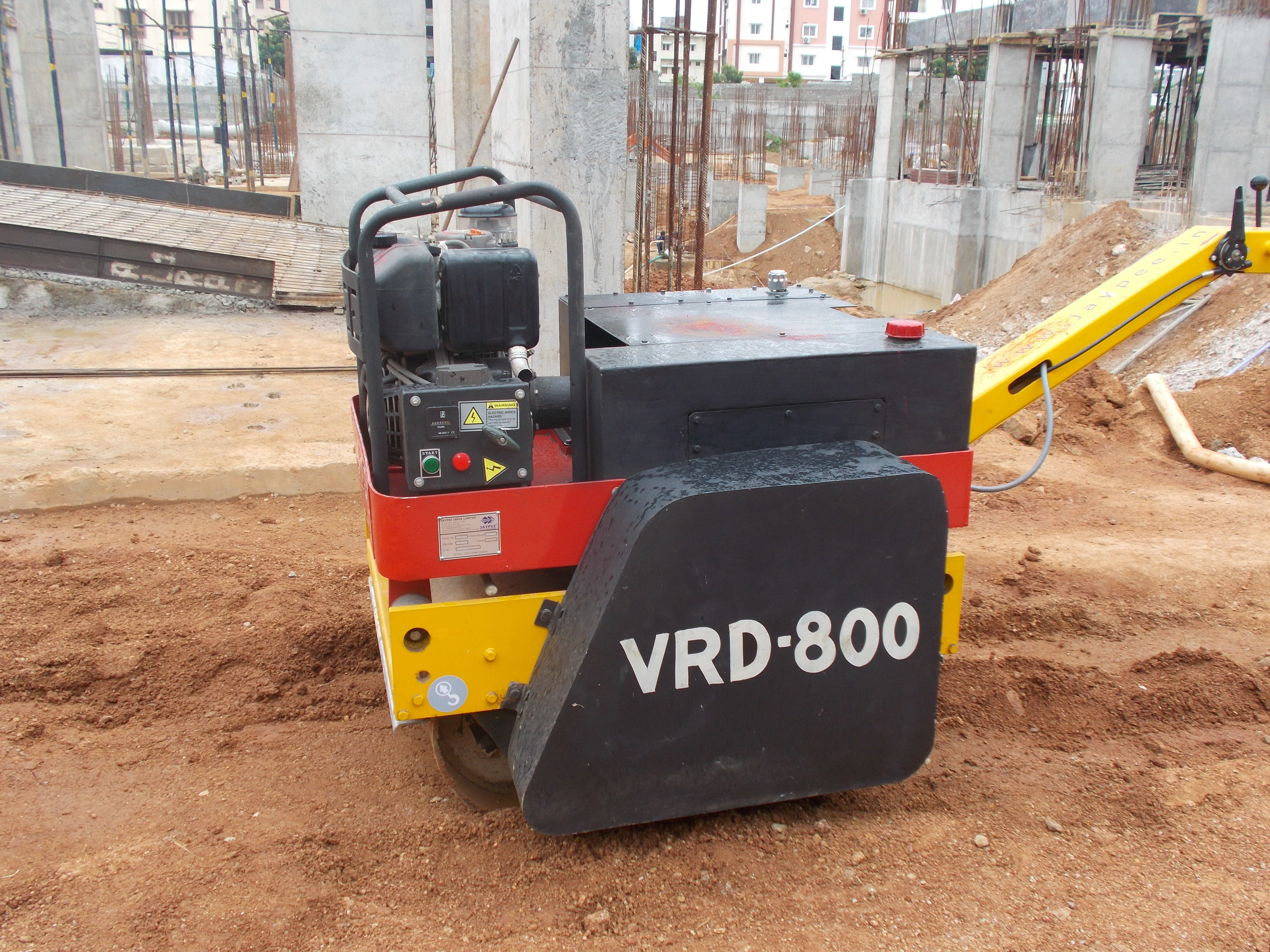 Walk Behind Vibratory Roller