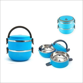 Insulated Double Layer In Lunch Box