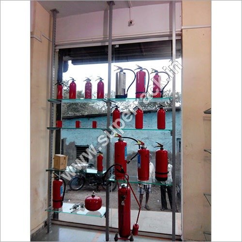 Fire Extinguisher Display Rack