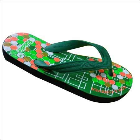 Mens Printed Hawai Slipper