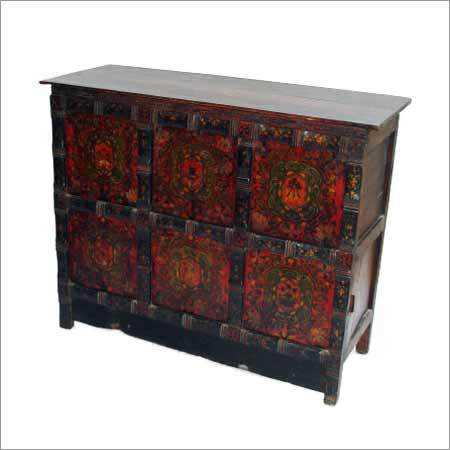 Wooden Tibetan Drawer