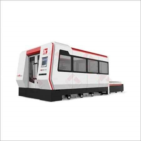 CNC Fiber Laser Machine With Fully Enclosed Changeable