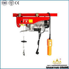 Single Phase Mini Wire Rope Electric Hoist